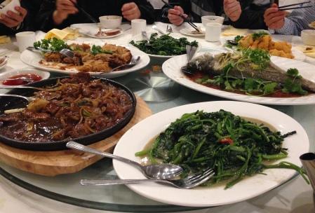 Mid-autumn festival banquet