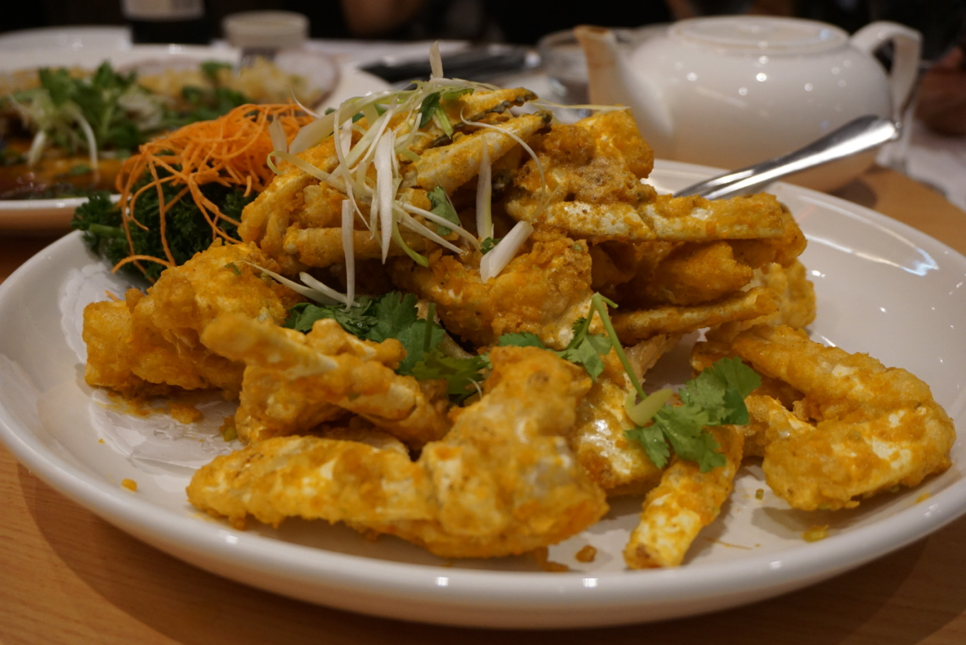 Golden (salted egg yolk) snow crab
