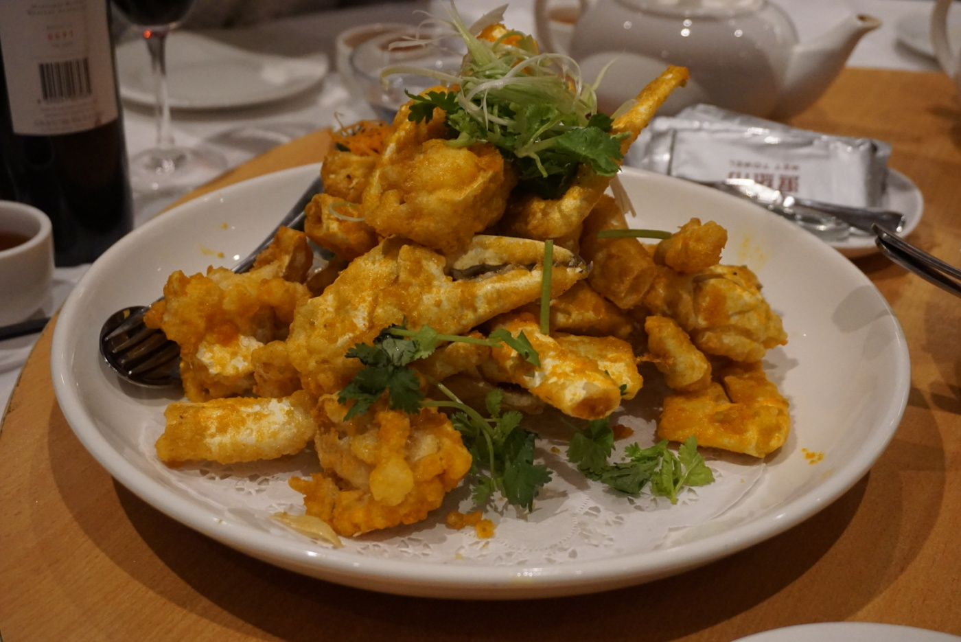 Golden (salted egg) snow crab