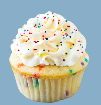 home custom design treats cupcakes cupcake menu funfetti cupcake