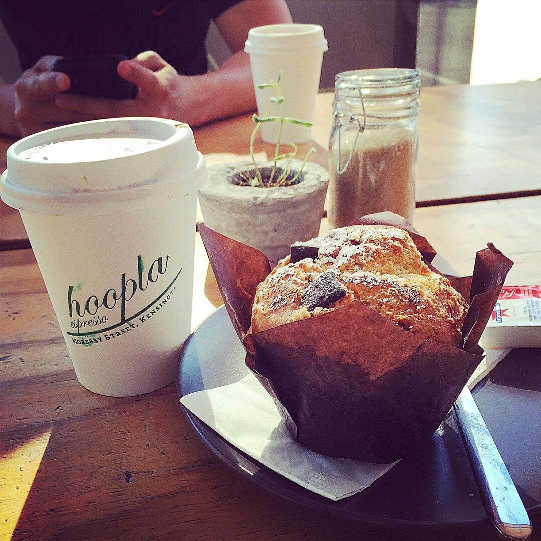 Takeaway coffees & Muffin