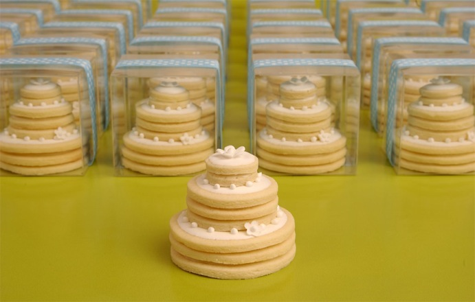 Stacked Wedding Cake Cookies Wedding Cake Cookie Stack
