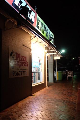 Hidden away behind Pizza Express