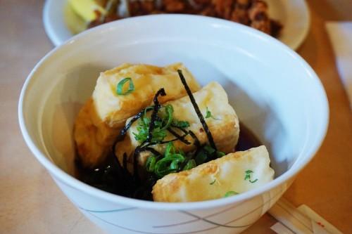 Agedashi tofu - Small ($5.30)