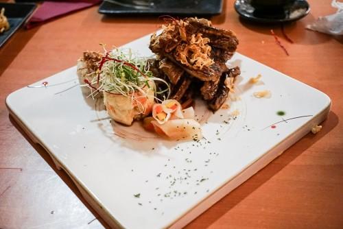 BBQ rib galbi ($32)