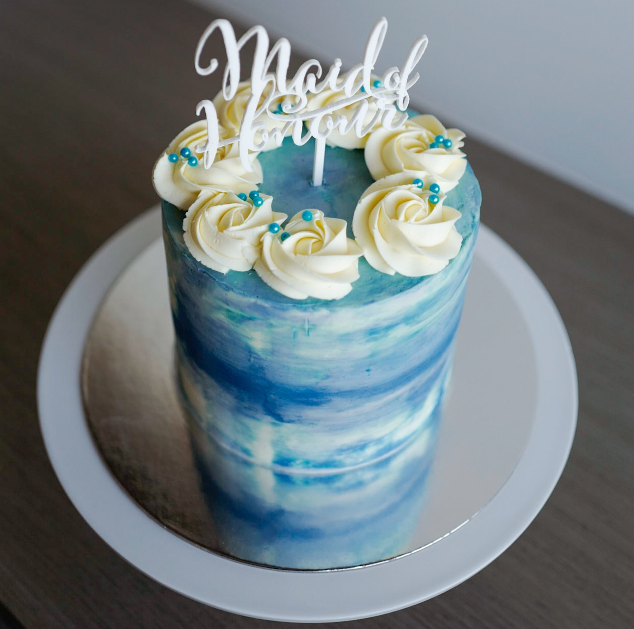 Birthday Cake With Drippy Icing