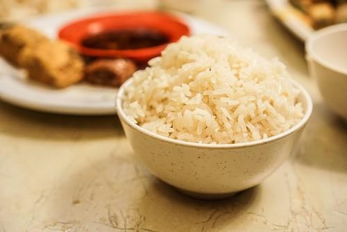One serve of chicken flavoured rice ($3.80)