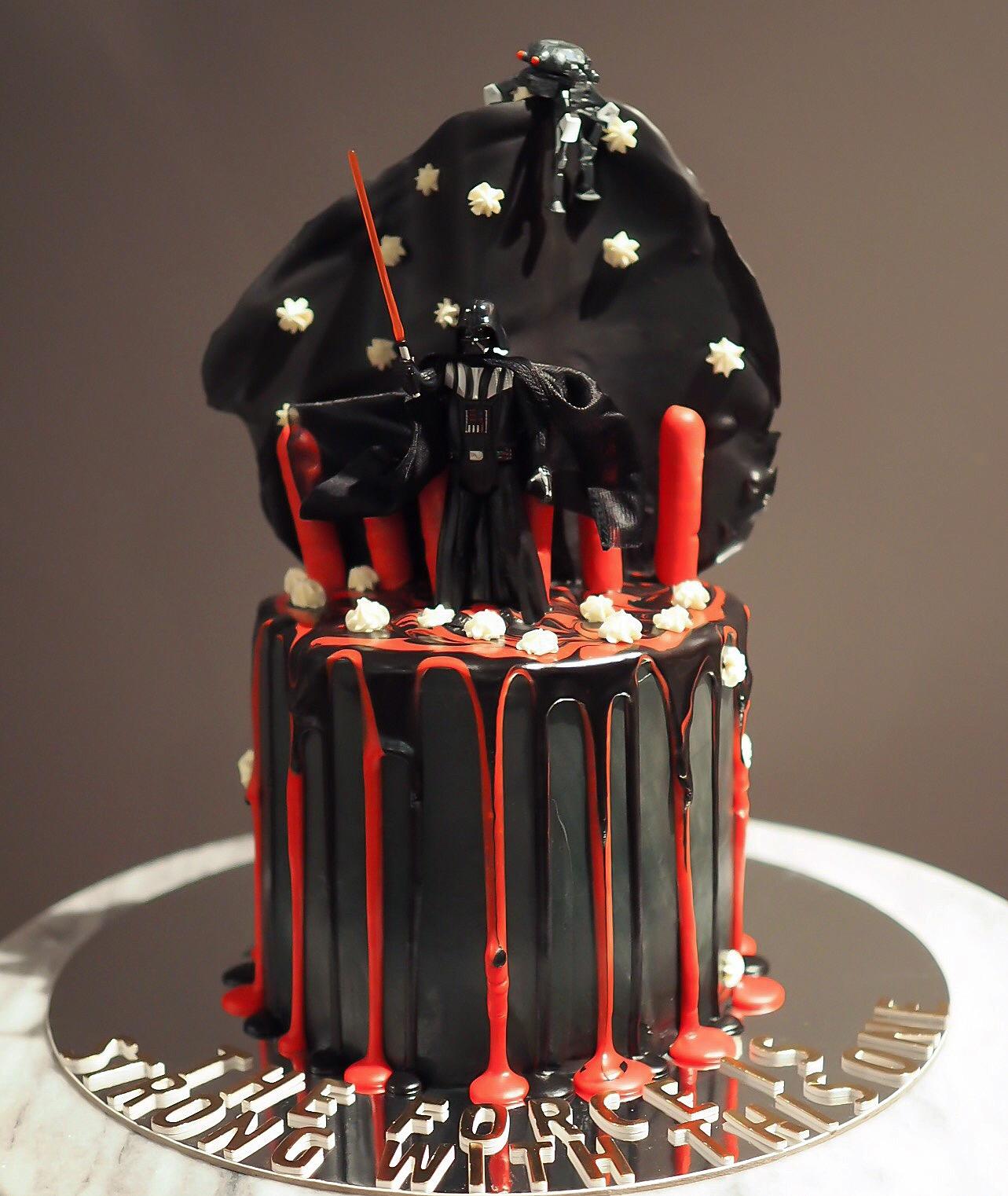 star wars cake bake you smile. Black Bedroom Furniture Sets. Home Design Ideas