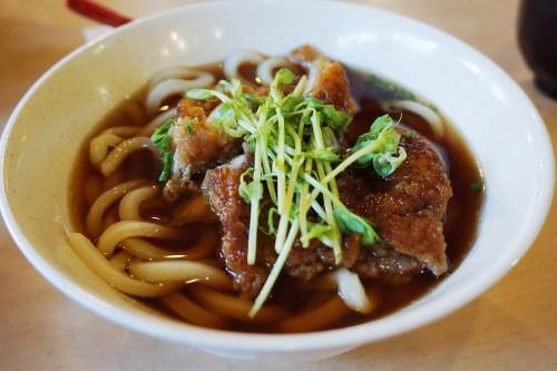 Teriyaki chicken udon ($7.80)
