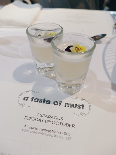 'Season of Love' Asparagus Infused Gin Sour