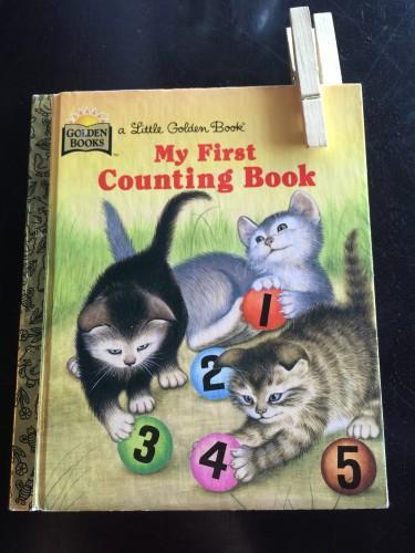Story book menu cover